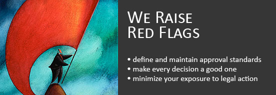 We Raise Red Flags